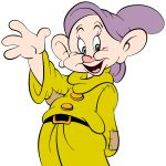Digital Rendering of Dopey by Steven Walker using Photoshop and Illustrator. Character copyright Disney.