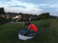 While i enjoy view of Sunset at Jalan Ledang, JB, Malaysia