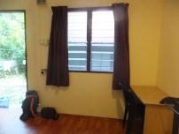 Tropicana Inn Window and table