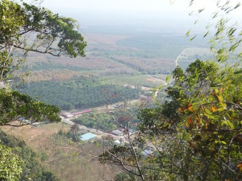 Krabi The Tiger Cave Temple - Almost there! view