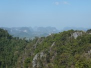 Krabi The Tiger Cave Temple - Viewpoint -Close Up