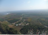 Krabi The Tiger Cave Temple - Viewpoint - Frontview Landscape