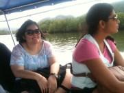 Kim & Susheel on Boat Mangrove Tour, Langkawi