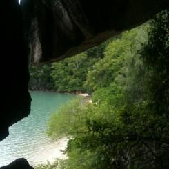 Love this shot taken from Gua Cerita, Langkawi