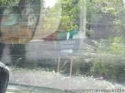 Signboard to Desaru Damai Beach Resort