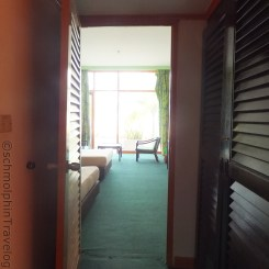 Desaru Damai Beach Resort Room 1 from Door