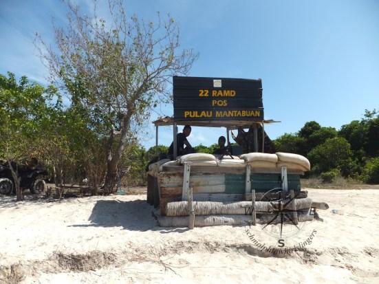 Explore Sabah, Mantabuan Island, Semporna 2014 – Military Base