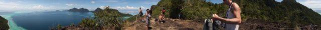 Explore Sabah Day 19: Bohey Dulang, Semporna - Panoramic view
