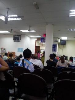 Sabah Dental Hospital Waiting Area