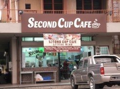 Second Cup Cafe Opp Keningau-KK Station
