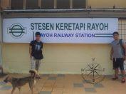 Sabah Padas Water Rafting Final Stop at Rayoh Railway Station