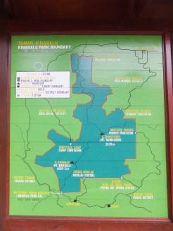 Mount Kinabalu Park Boundary Map