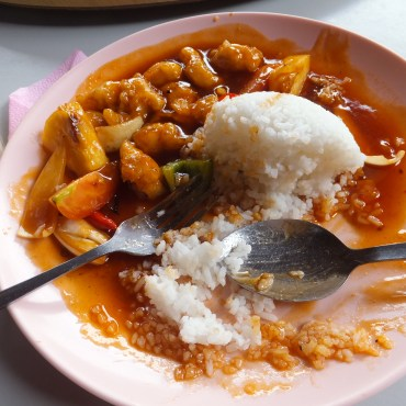 DSD at TARP, Sabah with Diverse Borneo – Sweet and Sour Chicken in Gaya Island Restaurant