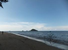 View of Pulau Mantukud and Pulau Dinawan from Left of Kinarut Beach