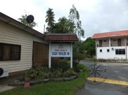Seaside Travellers Inn Welcome Signboard in Kinarut