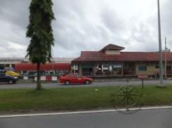 Passing by Putatan Train Station