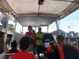 Sipadan Dive Centre Semporna ensures we use our life vest for safety purpose