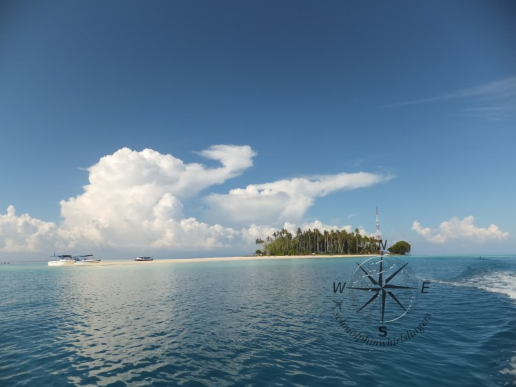 Overview of Sibuan Island, Semporna Island Hopping