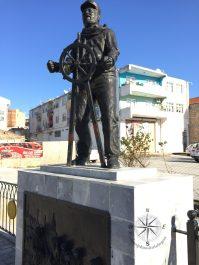 Explore Canakkale, Turkey – Sailor Statue on İnönü Köprüsü Bridge