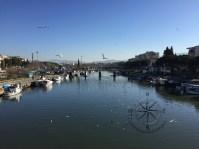Explore Canakkale, Turkey – Gulls flying View from İnönü Köprüsü Bridge