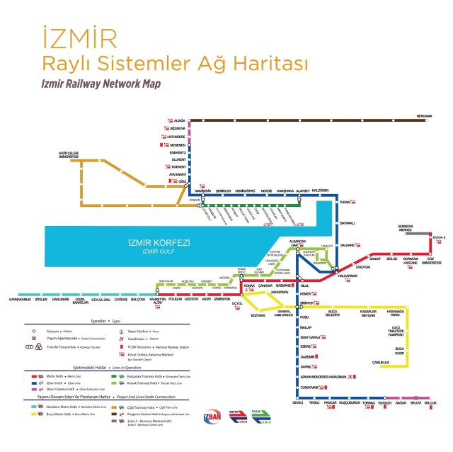 Explore Turkey – Izban Train Route in Izmir