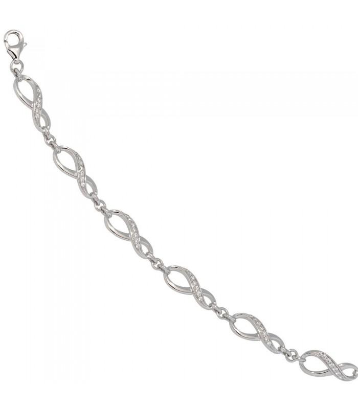 Armband Unendlichkeit 925 Sterling  45132  Schmuck