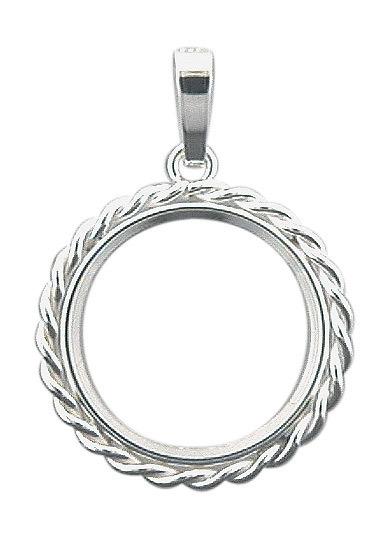 Mnzen Anhnger 25 mm Mnzfassung aus Silber  Mnze