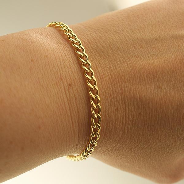 Goldarmband aus 750 Gold Panzerarmband FBM jetzt gnstig