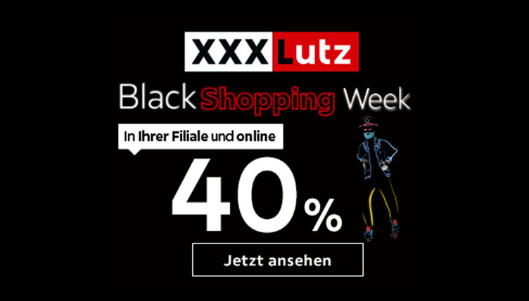 XXXLutz Online Black Shopping Week