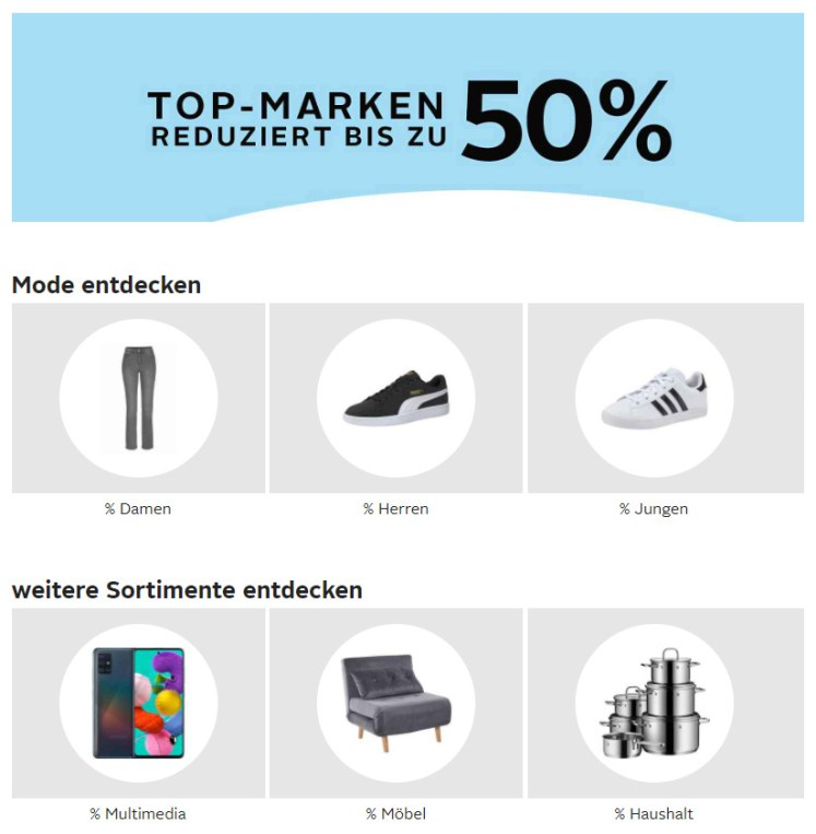Topmarken reduziert bei www.otto.de