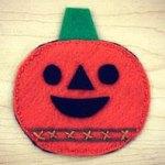 Felt Pumpkin Treat Pouch