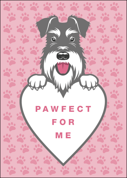 Pawfect for me card image