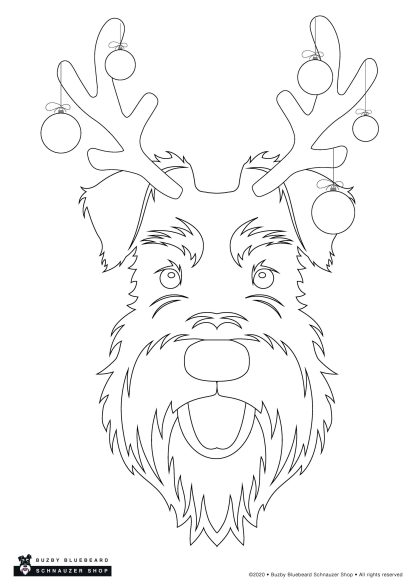 Christmas colouring pack - reindeer