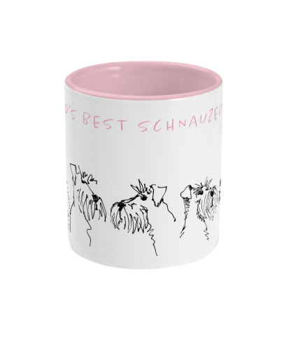 best mum mug pink centre view