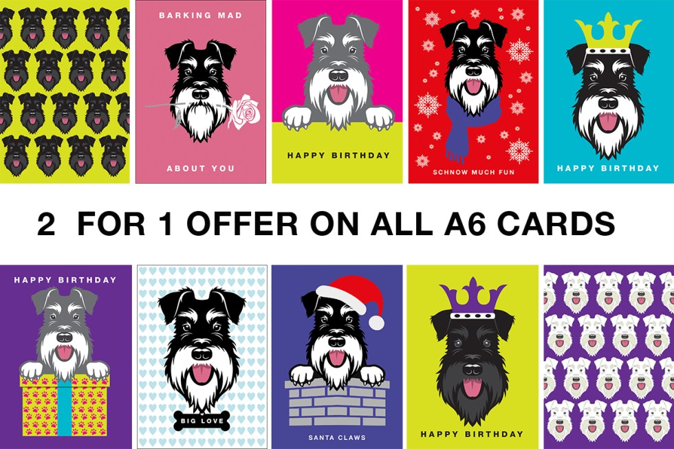 2 for 1 offer on cards