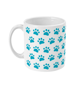 Mug-blue-paws-left side-mockup