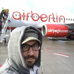 Airberlin Boardingselfie