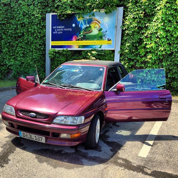 Ford Escort xr3i Cabrio #MeinErstesAuto