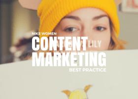 Best Practice Content Marketing von Nike Women