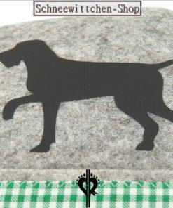 EU-Heimtierausweis Hundepass Hülle Hubertus