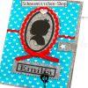 U-Hefthülle Baby Girl | Hellblau mit Herzchen