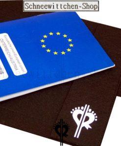 Pudel | EU-Heimtierausweis Hundepasshülle Tylor EU-Heimtierausweis Hülle Heimtierausweis Impfpass Hülle Pudel