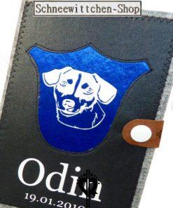 Jack Russell Terrier Hundepasshülle Odin | EU-Heimtierausweis Impfpasshülle