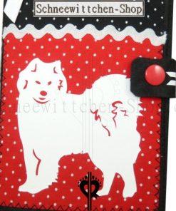 Samojede EU-Heimtierausweis Hundepasshülle EU-Heimtierausweis Hülle Heimtierausweis Impfpass Hülle Tierpasshülle Tierpersonalausweis