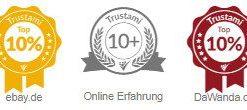 Schneewittchen-Shop Auszeichnungen Trustami
