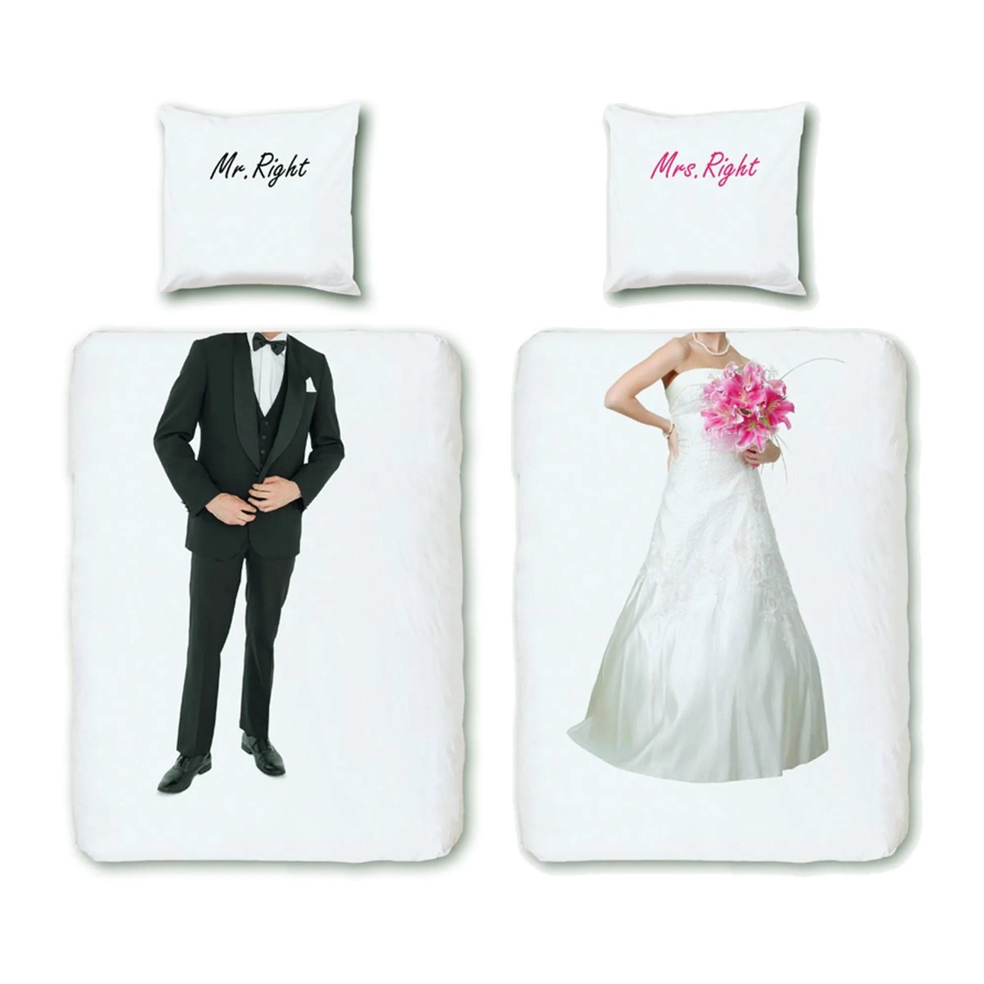 Bettwäsche Mr Und Mrs