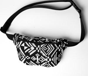 Vintage Bauchtasche im Boho Stil mit Aztec Mustern