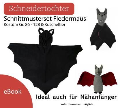 Kostüm Fledermaus Kuscheltier + Kostüm Dawanda1
