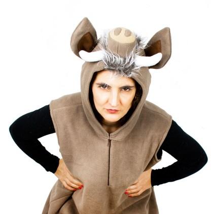 Kostüm Wildschwein für Karneval made in germany