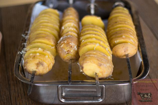 Tornado Potato Snack Parmesan Roh